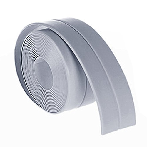38mm*3.2M Home Kitchen Bathroom Bathtub Wall Sealing Tape Strips Mildew Resistant Self Adhesive Tape For Sink Basin Waterproof by LKForward_Home and Garden