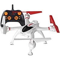 RC Drone Helicopter Warrior Drone Quadcopter 2.4GHz 4 Axis Quadcopter Selfie Drone (Multicolor)