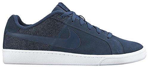 Nike Court Royale Plus - Zapatillas unisex, color negro / blanco, talla 40.5 Azul / Blanco
