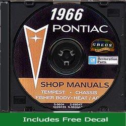 1966 Pontiac Shop Service Repair Body Manual CD 66 (with Bonus ()