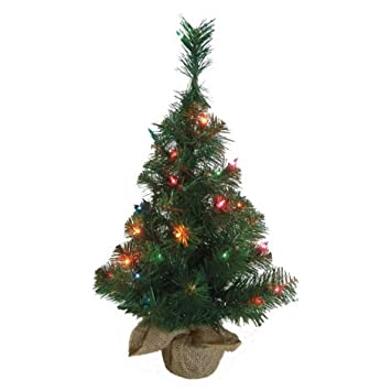 northern forest 2 ft pre lit christmas tree
