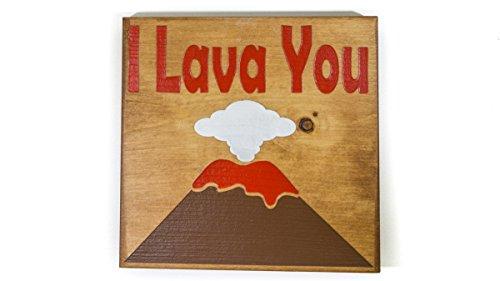 LookIntoHawaii.com I Lava You Volcano Sign by LookIntoHawaii.com