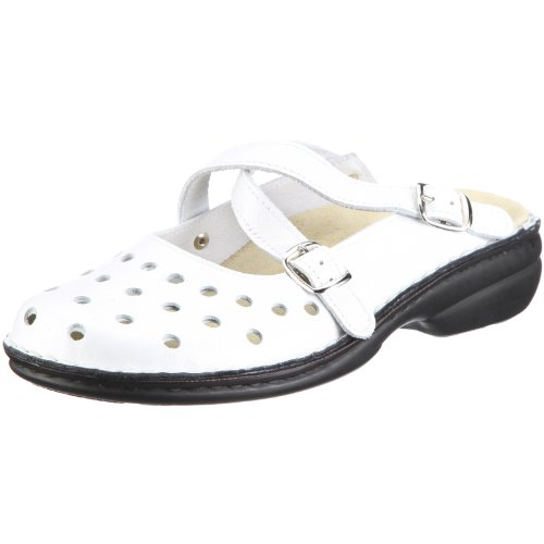 Bianco Parma Collection Clogs Weiss Mules Women's Herrmann Hans And qZFpTPqw