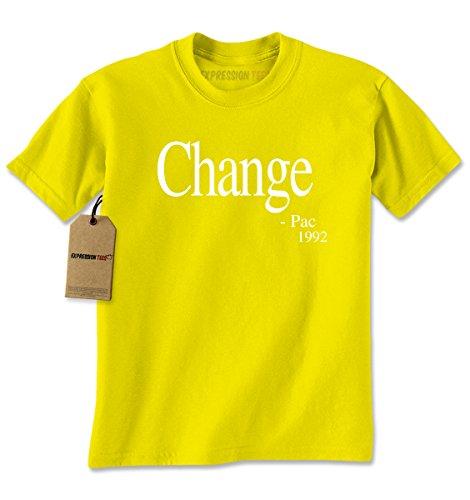 Change Yellow T-shirt (Mens Change - Pac T-Shirt Small Yellow)