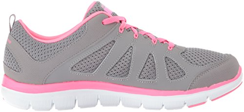 black Women's Simplistic Pink Trainers 0 2 Weight Appeal Flex Gray Lite Skechers fitness qwvf1TWFF