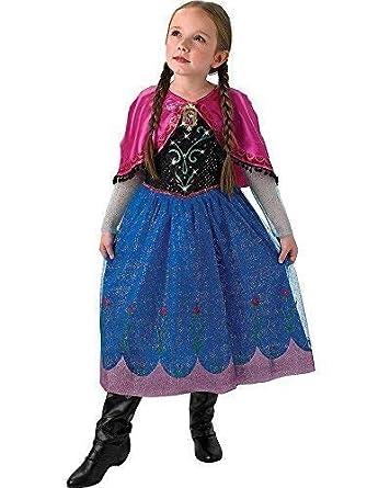 Amazon.com: Disfraz oficial de Disney Frozen Anna o Elsa de ...