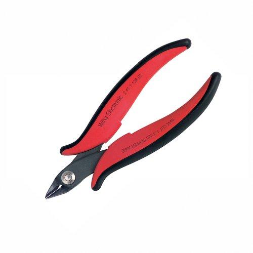 Wiha Diagonal Cutter (Wiha 56818 Precision Electronic Diagonal Cutters with Wide Pointed Head)