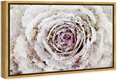 The Oliver Gal Artist Co. Floral and Botanical Framed Wall Art Canvas Prints 'Winter New York Flower' Floral