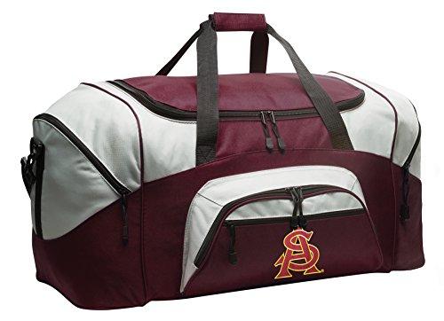 Broad Bay Large ASU Sun Devils Gym Bag Deluxe ASU Duffle Bag by Broad Bay