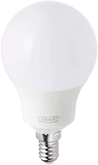 Tradfri Led Lampe E14 400 Lumen Kabellos Dimmbar Weisses Spektrum Opalweiss Amazon De Beleuchtung