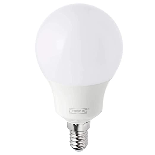TRADFRI - Bombilla LED E14 (400 lúmenes, intensidad regulable, opalina), color