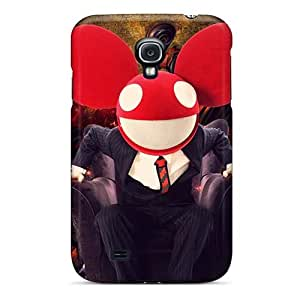 Shock-Absorbing Hard Phone Covers For Samsung Galaxy S4 (ZVc69doOT) Customized Colorful Red Hot Chili Peppers Series