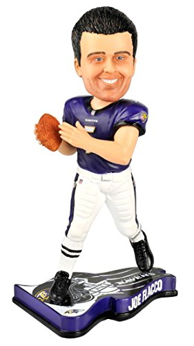 Forever Collectibles NFL Baltimore Ravens BobbleheadPennant Base, Team Colors, One Size