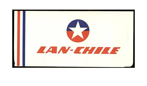 Amazon.com: LAN-Chile Airlines airline ticket wrapper wallet unused 1960s: Entertainment Collectibles