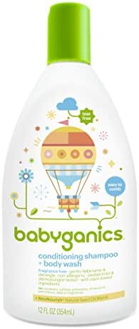 Baby Shampoo: Babyganics Conditioning Shampoo + Body Wash