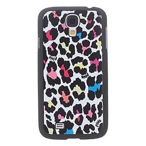 conseguir Estampado leopardo caso duro durable colorida para Samsung i9500 Galaxy S4