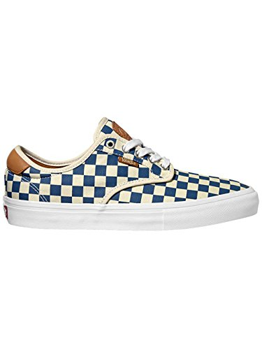 VANS CHIMA FERGUSON PRO COLORE CHECKBOARD TAN BLUE