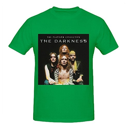 The Darkness Platinum Collection Men Graphic Tee Shirts O Neck Green (Platinum Ninjago compare prices)