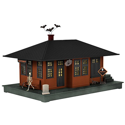 The Lionel Halloween Haunted Passenger Station