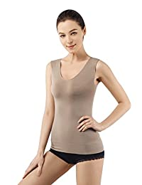 MD Tank Top Shapewear Camisole Body Shaper For Tummy Waist And Hips Small Brown