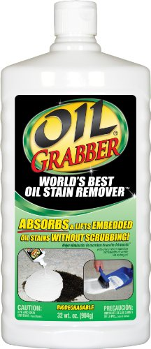 Krud Kutter OG326 OG32 Grabber Oil Stain Remover, 32-Ounce (Best Concrete Cleaner Oil Stains)