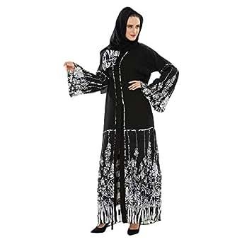 Yasmin Multi Color Casual Abaya For Women