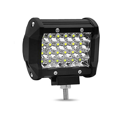 ️ Yu2d ❤️❤️ ️4 inch 72W LED Strip Light Working Refit Off-Road Vehicle Light Roof Strip Light]()