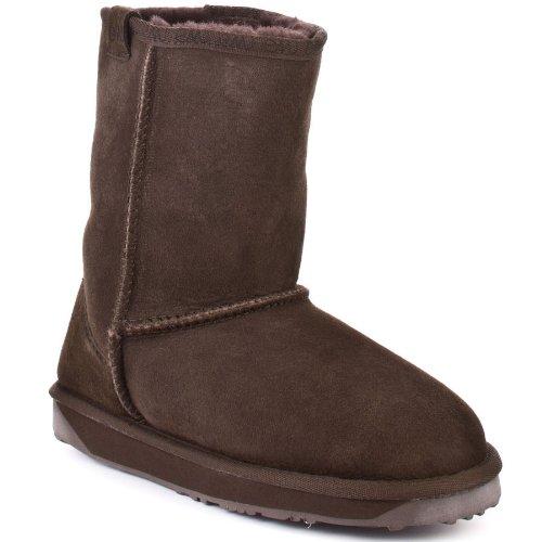 Chocolate Stinger Lo Womens Emu Australia Boots size 8 (Emus Boots)
