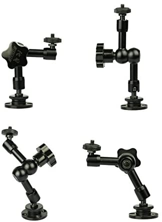 Webcam Wall Mount - 7\'\' Articulating Magic Arm Stand for Logitec C925e,C922x,C922,C930e,C930,C920,C615,Brio 4K 31eG-veRppL