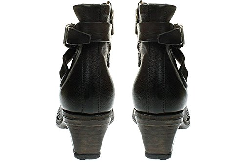 A.S.98 860203-0101 - Damen Stiefelette Cowboy-/ Bikerstiefelette Boots