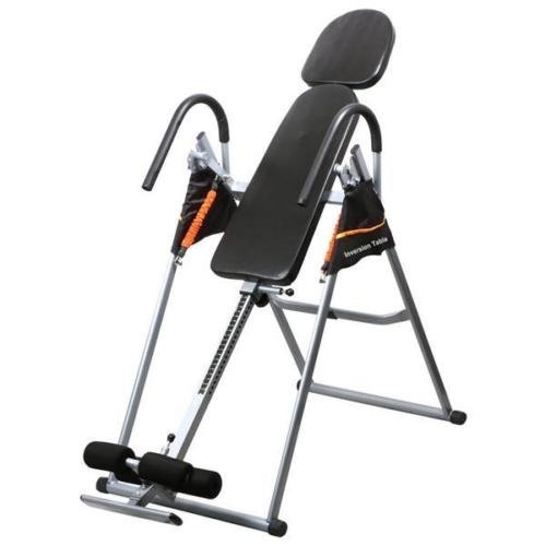 Premium Inversion Gravity Foldable Exercise Table Reflexology Fitness Back Therapy by Allblessings