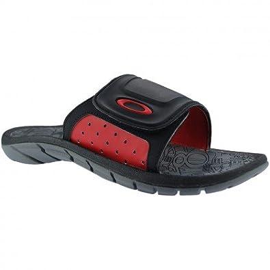 9b29f4d9b5b Oakley Supercoil Slide Sandals - Black red  Amazon.co.uk  Shoes   Bags