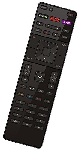 Smartby Replaced VIZIO XRT510 IR Infrared Remote Control for all VIZIO M-Series TV, No Wi-Fi Function