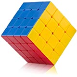 AdiChai Bright Colored 4 by 4 Magic Speed Cube Rubik Cube