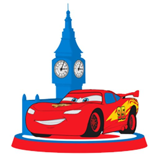 Lets Party By Hallmark Disney Cars 2 Molded Candle (Cars Molded Candle)