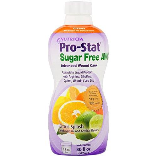 (Pro-Stat Sugar Free AWC - Citrus Splash, 30 fl oz (Case of 4 bottles) by Nutricia)