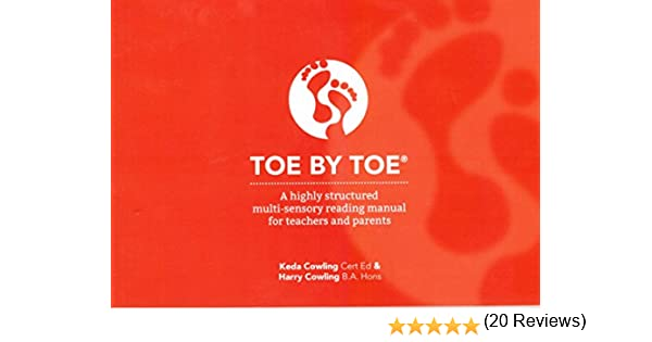 Toe by Toe: Highly Structured Multi-Sensory Reading Manual for ...