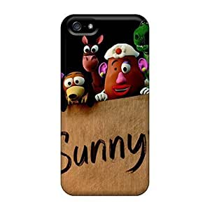 Abrahamcc Case Cover Protector Specially Made For Iphone 5/5s 2010 Toy Story 3 Movie
