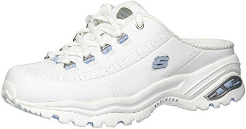 Light Blue Premium Skechers Break Even Women's Sneaker White x0YUqwZRH