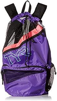 TYR unisex-adult Elite Team Mesh Backpack