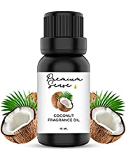 Coconut Premium Quality Fragrance Oil 15ml – Suitable for Gel Candles, Soap, Candles/Incense, Skin and Hair Care – Exquisite and Intense