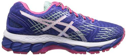 ASICS Womens GEL-Nimbus 17 Running Shoe Deep Blue/White/Hot Pink rqHE7q