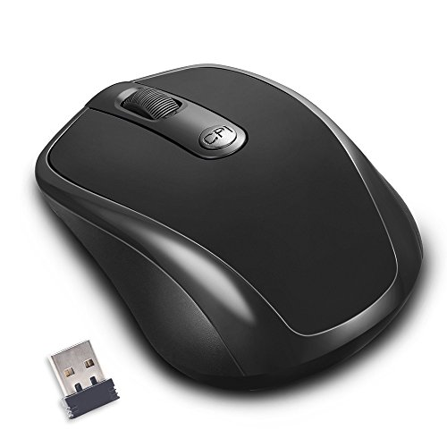 2.4G Wireless Mouse,Computer Mouse Mice with Nano Receiver, 3 Adjustable DPI Levels: 1600/1200/800CPi 01