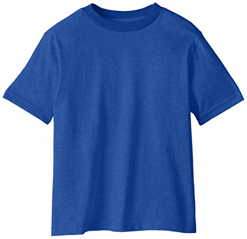 Soffe Little Boys' Pro Weight Short Sleeve Tee, Royal, Small/4