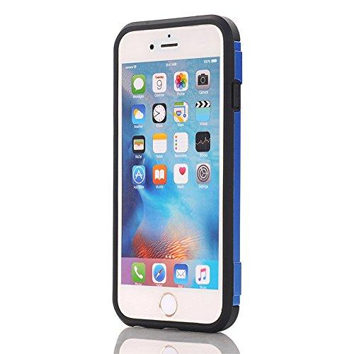 """iPhone 6 Plus / 6s Plus Hülle, iPhone 6 Plus / 6s Plus Schutzhülle, Alfort 2 in 1 Schutzhülle Hart PC + TPU Case Cover Telefon Kasten Vollschutz für Apple iPhone 6 Plus / 6s Plus 5.5"""" Smartphone Hyper"""