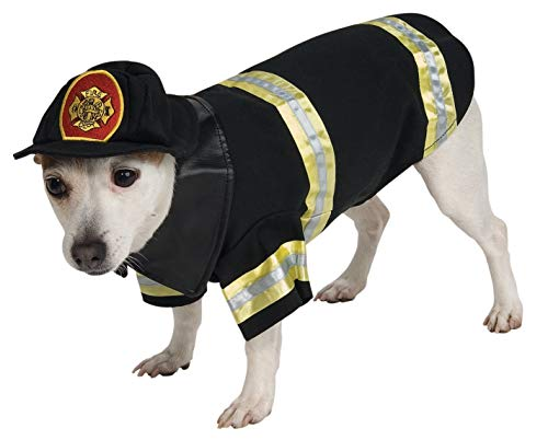 Rubie's Fire Fighter Pet Costume, Medium