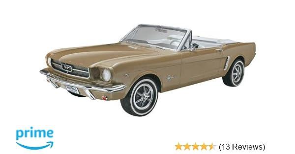 Amazon Revell Monogram 64 1 2 Mustang Convertible Plastic Model Kit Toys Games