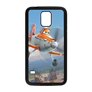 Disney Planes Funda Samsung Galaxy S5 Funda Caja del teléfono celular Negro K7Y3UR