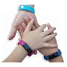 Kids Fitness Tracker Activity Tracker for Kids – Waterproof Smart Watch for Girls Boys Youth Digital Watch Alarm…