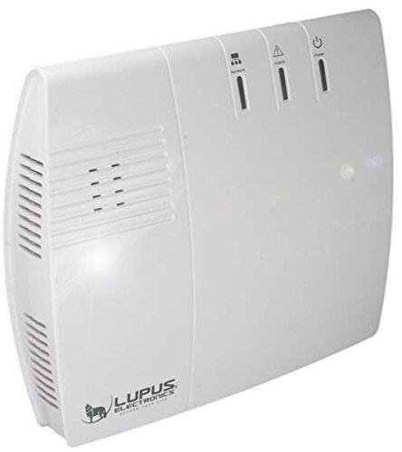 Lupus Electronics LUPUSEC XT1 SmartHome Funk Alarmanlage, Basisstation, max. 20 Melder, Sicher informiert! Überall. Jederzeit. All In One, weiß, 12000